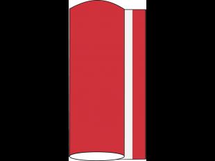 Tischläufer Airlaid, 40 cm x 24 lfm, rubinrot