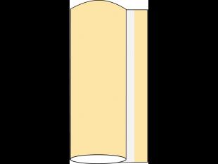Tischläufer Airlaid, 40 cm x 24 lfm, creme