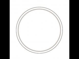 Tassenuntersetzer Tissuewatte 8-lagig weiss, ø 90 mm, gerader Rand, unbedruckt