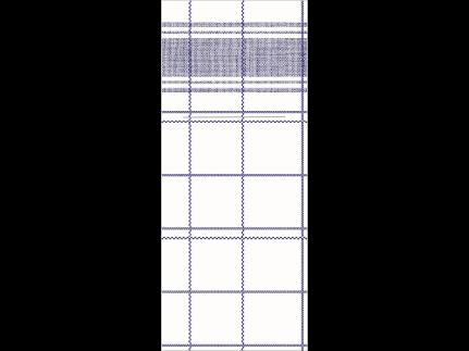 "Bestecktasche Airlaid, 48 x 40 cm, 1/8 Falz, ""NADEEM"" blau"