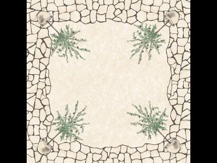 "Tischdecken Airlaid, Pearl-Coating , 80 x 80 cm, 1/8 Falz, ""VITA"" mediterrano"