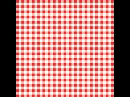 """Tischdecken Airlaid, 80 x 80 cm, 1/8 Falz, """"KARO"""" rot"""