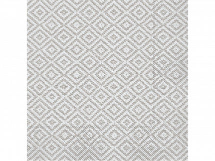 "Servietten Tissue 3-lagig, 33 x 33 cm, 1/4 Falz, ""LAGOS"" grau"