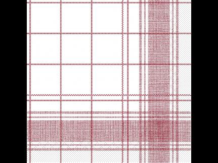 "Servietten Tissue 3-lagig, 33 x 33 cm, 1/4 Falz, ""NADEEM"" bordeaux"