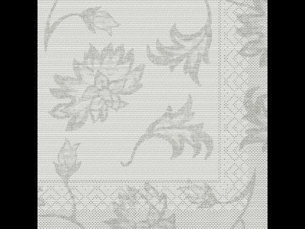 "Servietten Tissue 3-lagig, 40 x 40 cm, 1/4 Falz, ""LISBOA"" grau"