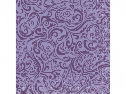 "Servietten Tissue 3-lagig, 40 x 40 cm, 1/4 Falz, ""LIAS"" lila"