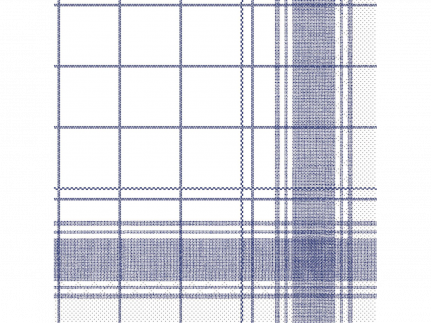 """Servietten Tissue 3-lagig, 40 x 40 cm, 1/4 Falz, """"NADEEM"""" blau"""