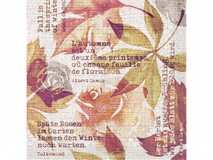 "Servietten Tissue 3-lagig, 40 x 40 cm, 1/4 Falz, ""GUNNAR"" terrakotta"
